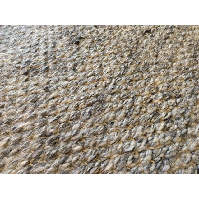 Restoration Hardware Area Rugs: Restoration Hardware Luxe Looped Wool Rug - 6' X 9'