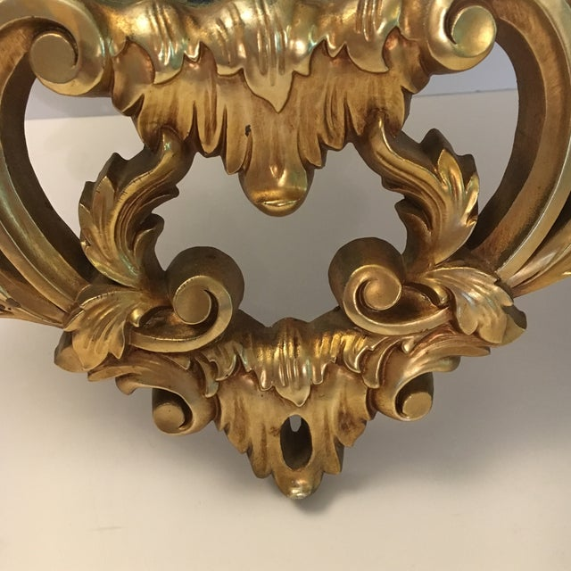 Burwood Products Gold Ornate Mirror - Image 4 of 8