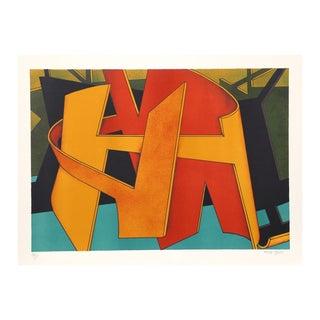 "Jasha Green ""Untitled 32"" Lithograph"