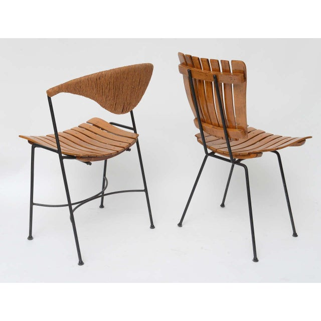 Set of Four Arthur Umanoff Dining Chairs for Raymor - Image 5 of 10