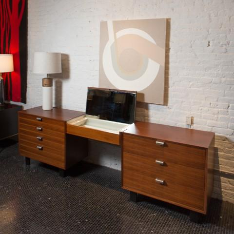 Image of George Nelson Chests and Vanity