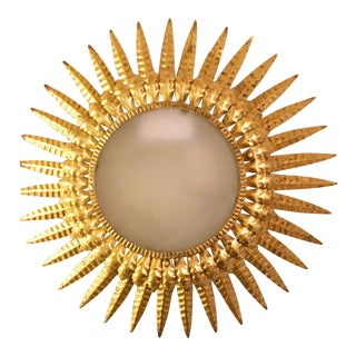 20th Century Sunburst Light