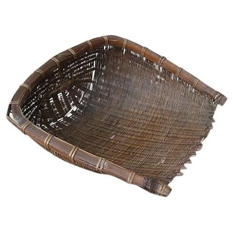 Primitive Rice Scoop Basket - Image 1 of 9