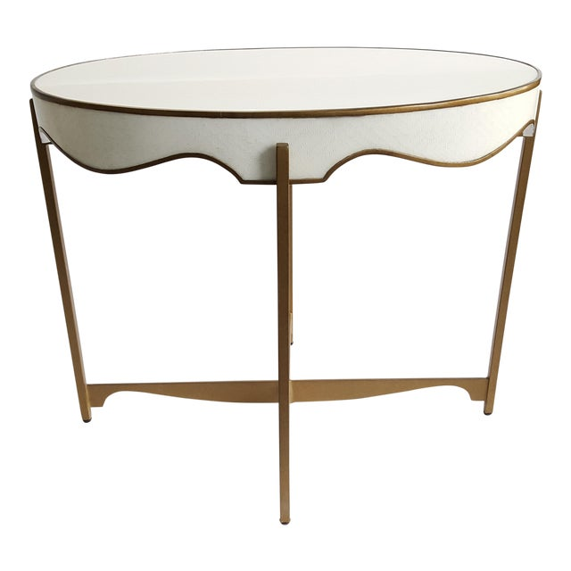 Gabby Trudy Oval Side Table - Image 1 of 5