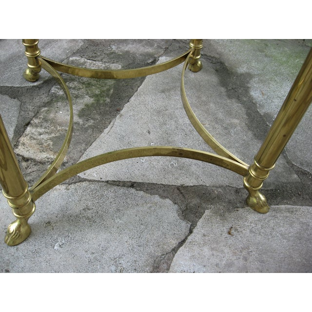 Vintage Brass LaBarge Table - Image 7 of 8