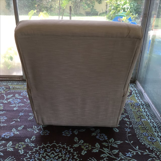 Classic Glider Recliner Club Chair - Image 6 of 11