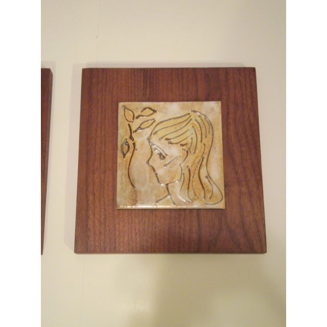 1950's Art Tiles by Harris B. Strong - Image 3 of 8