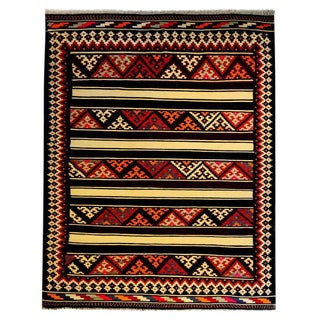 Beautiful Mid-20th Century Zarand Kilim Rug