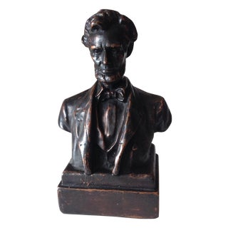 C. 1950s Abe Lincoln Bronze Bust
