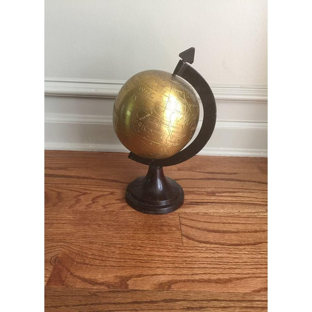 Image of Vintage Brass Globe