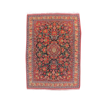 Happy Bidjar Rug with Rose Garland