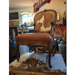 Image of 1930s Re-Upholstered Cowhide Leather Chairs