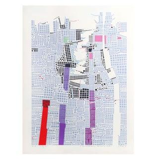 Risaburo Kimura - City 85 Silkscreen