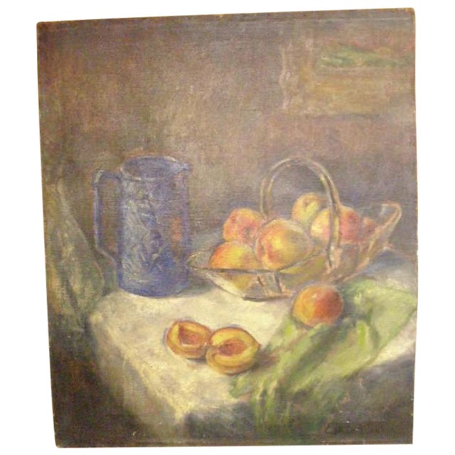 Ester Kee Oil Painting - Image 1 of 7