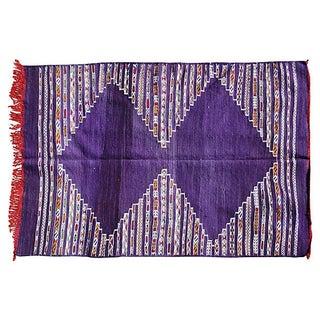 Moroccan Berber Kilim Rug - 5'7'' x 4'7''