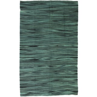 Aara Rugs Inc. Hand Knotted Patchwork Kilim - 5′10″ × 9′