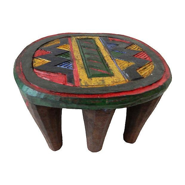 African Nupe Low Milk Stool - Image 2 of 6