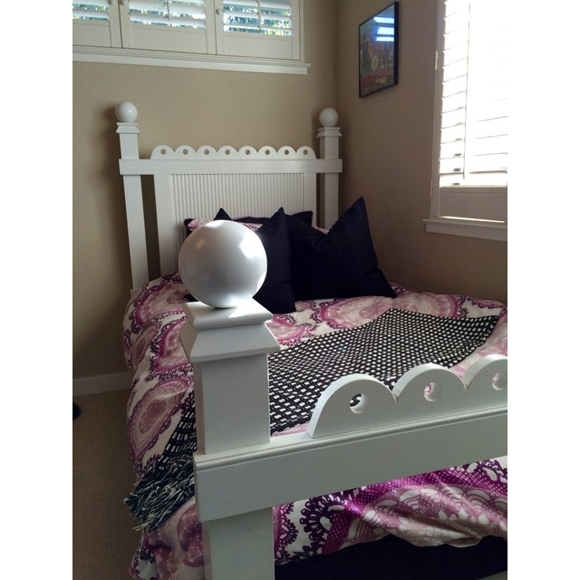"""Maine Cottage """"Lizzie"""" Fairytale Twin Bedframe - Image 3 of 10"""