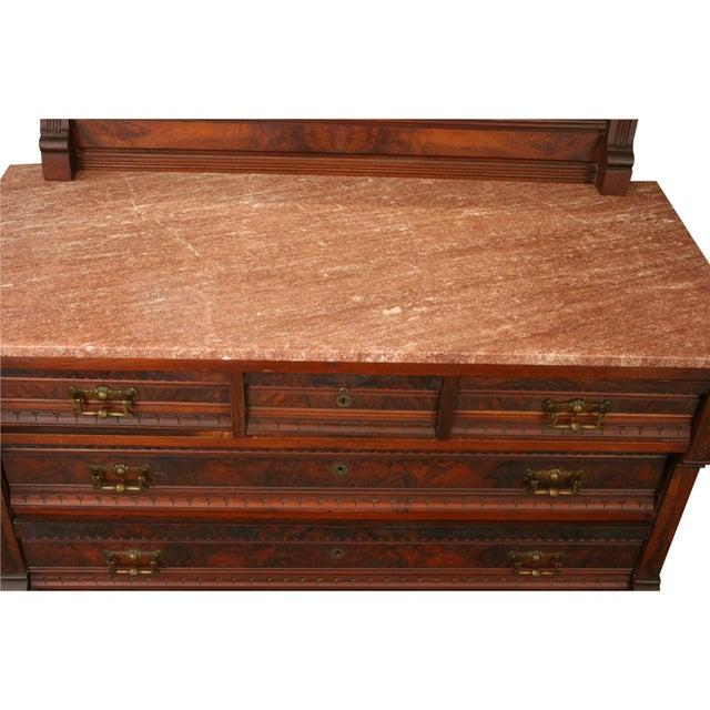 Antique Eastlake Vanity Dressing Table 1890  Chairish-4934