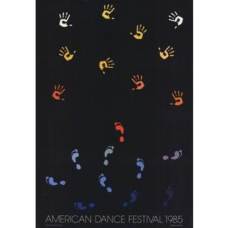 1985 Per Arnoldi American Dance Festival Poster
