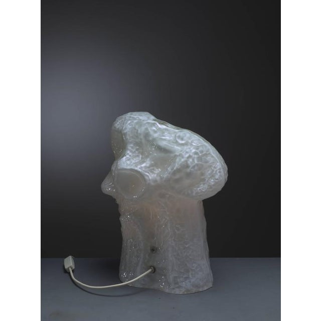 Carlo Nason Sculptural Murano Glass Table Lamp by Mazzega, Italy, 1960s - Image 6 of 9