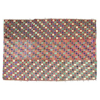 Handwoven Hill Tribe Dowry Quilt