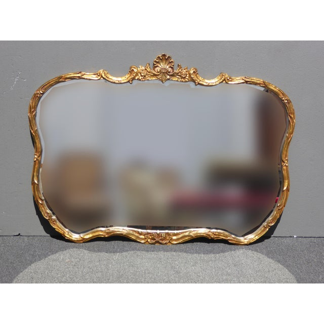 Vintage French Louis XVI Style Wall Mirror - Image 5 of 11