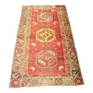 "Bellwether Rugs Vintage Turkish Distressed Area Rug - 3'3"" X 5'10"""