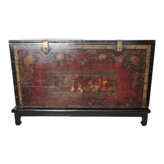 Large Antique and Historical Chinese Storage Trunk/Dowry Chest