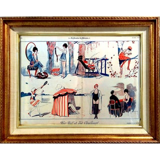 """1919 Le Sourie """"Girls Day Off"""" Print"""