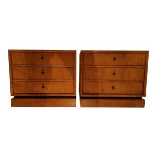 Drexel Danish Style Dressers - A Pair