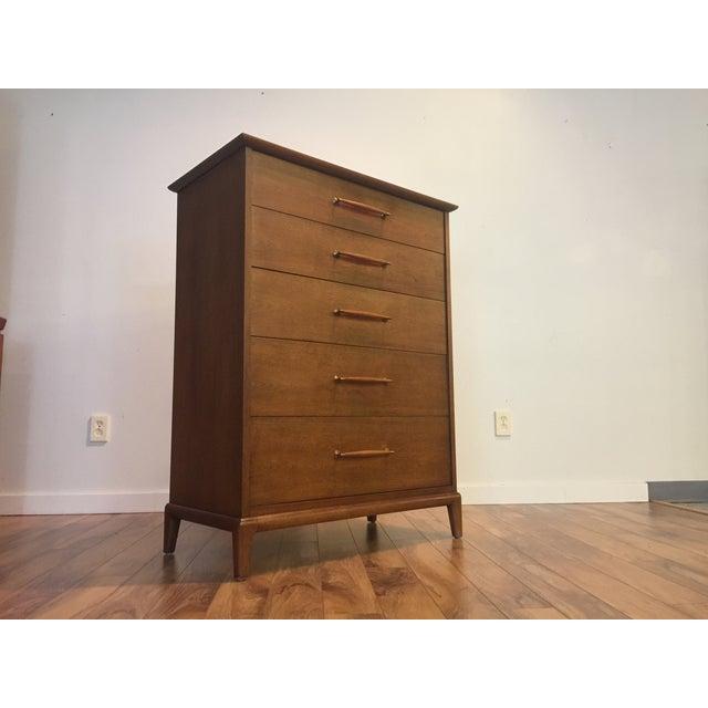 Heritage Henredon Mid-Century Highboy Dresser - Image 9 of 11