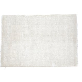"Distressed Oushak Rug - 4'2"" X 6'1"""