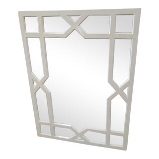 Lacquered Geometric Mirror
