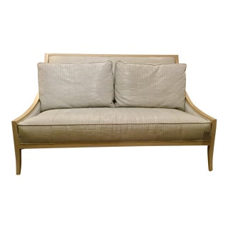 "Caracole ""On the Line"" Settee"