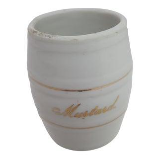 Vintage German Mustard Cup