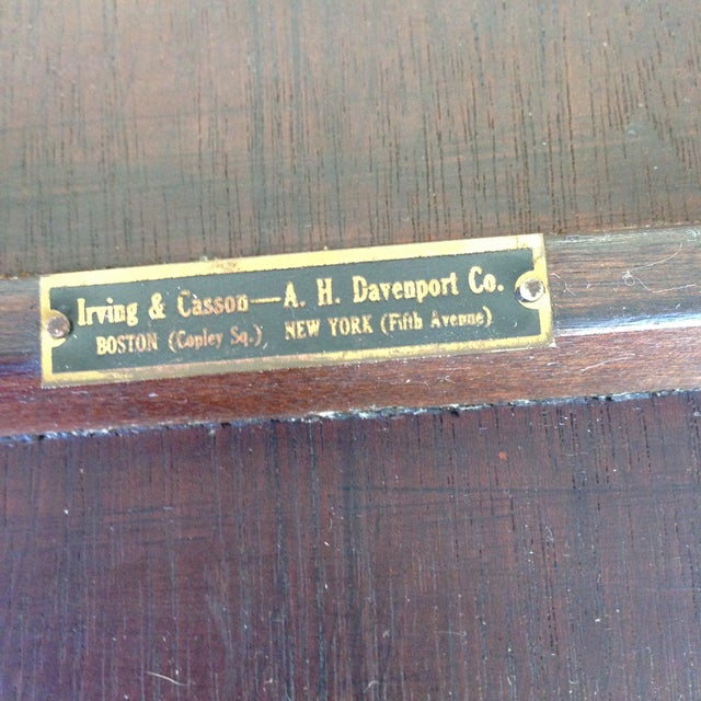Irving & Casson Antique Wooden Bar Cart - Image 7 of 7