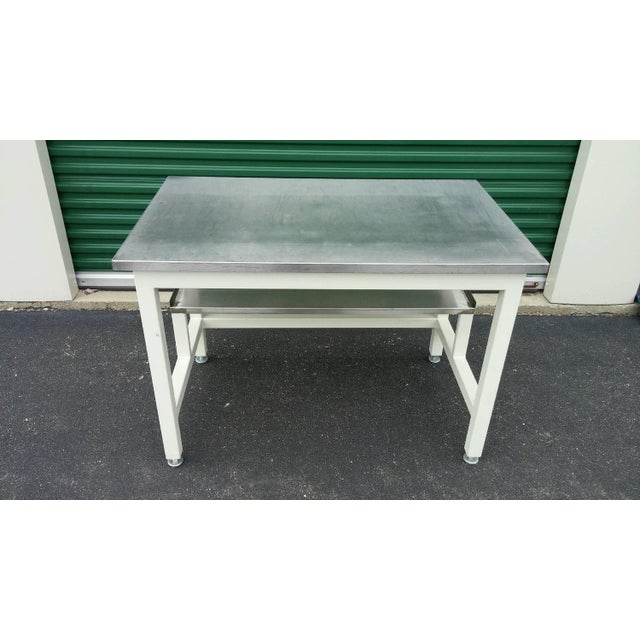 Stainless Steel Lab Work Table or Desk - Image 7 of 9
