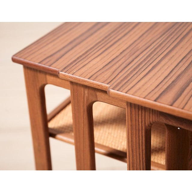 Johannes Andersen Nesting Tables - Image 8 of 11
