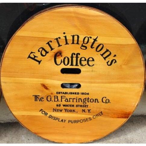 Vintage Old Stock Coffee Barrel Lid - Image 2 of 3