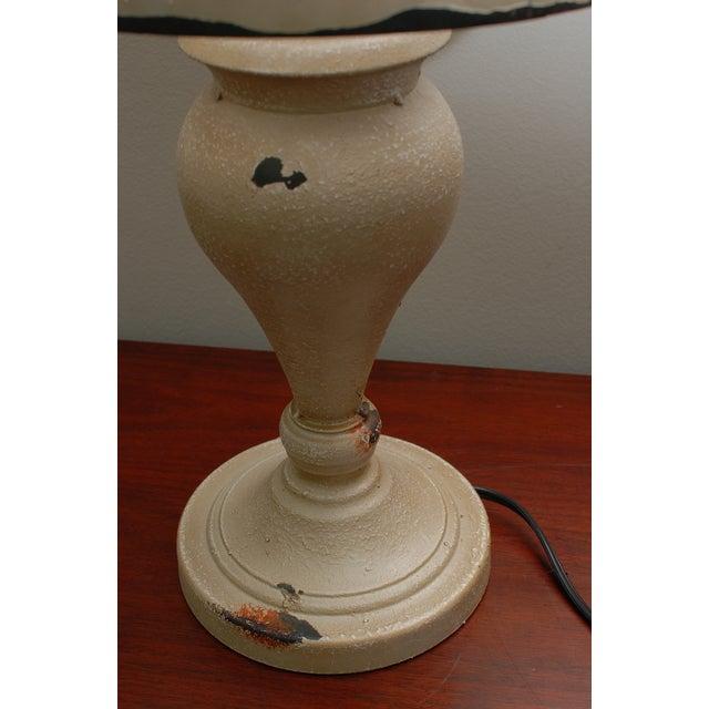 Cream Metal Nostalgia Lamp - Image 5 of 5