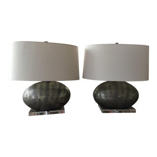 Arteriors Home Porcelain Winslow Lamp - A Pair