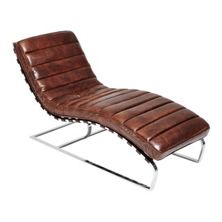 Win Travis Leather Lounger