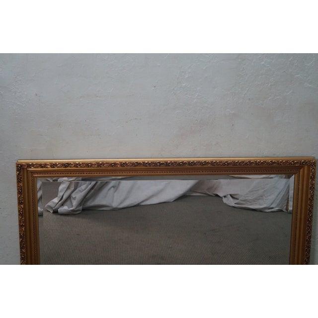 Gilt Frame Beveled Mirror - Image 6 of 10