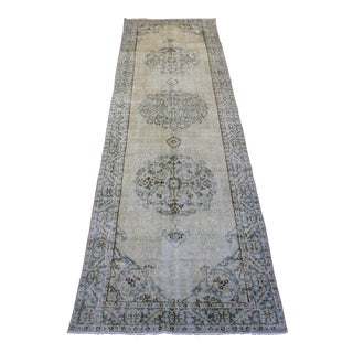 Oriental Turkish Rug - 3′1″ × 11′11″