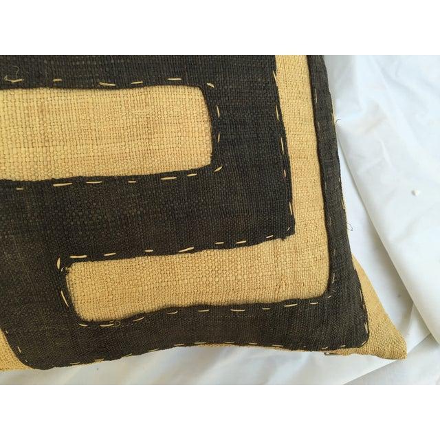 African Kuba Maze Pillow - Image 5 of 6