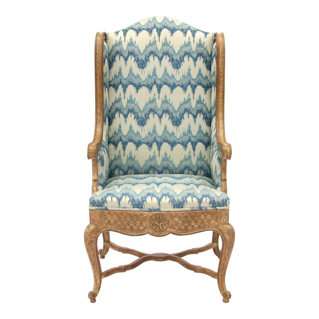 Robert Richter Wingback Chair - Image 1 of 11