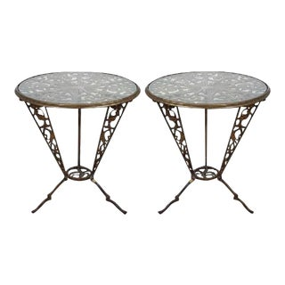 Karl Hagenauer Art Deco Rena Rosenthal Tables - a Pair
