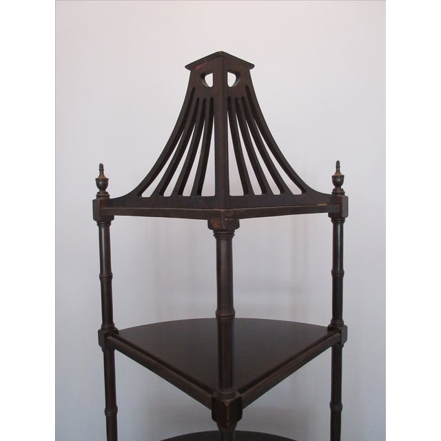 Image of Antique Chippendale Five Tiered Etagere