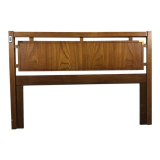 Thomasville Huntley Carved Wood Queen Size Headboard